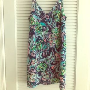 Lilly Pulitzer Lela Dress in Hanging with Fronds.